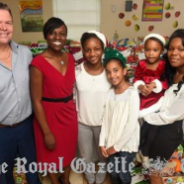 Royal Gazette:  Free Food Bermuda Spreads Festive Cheer
